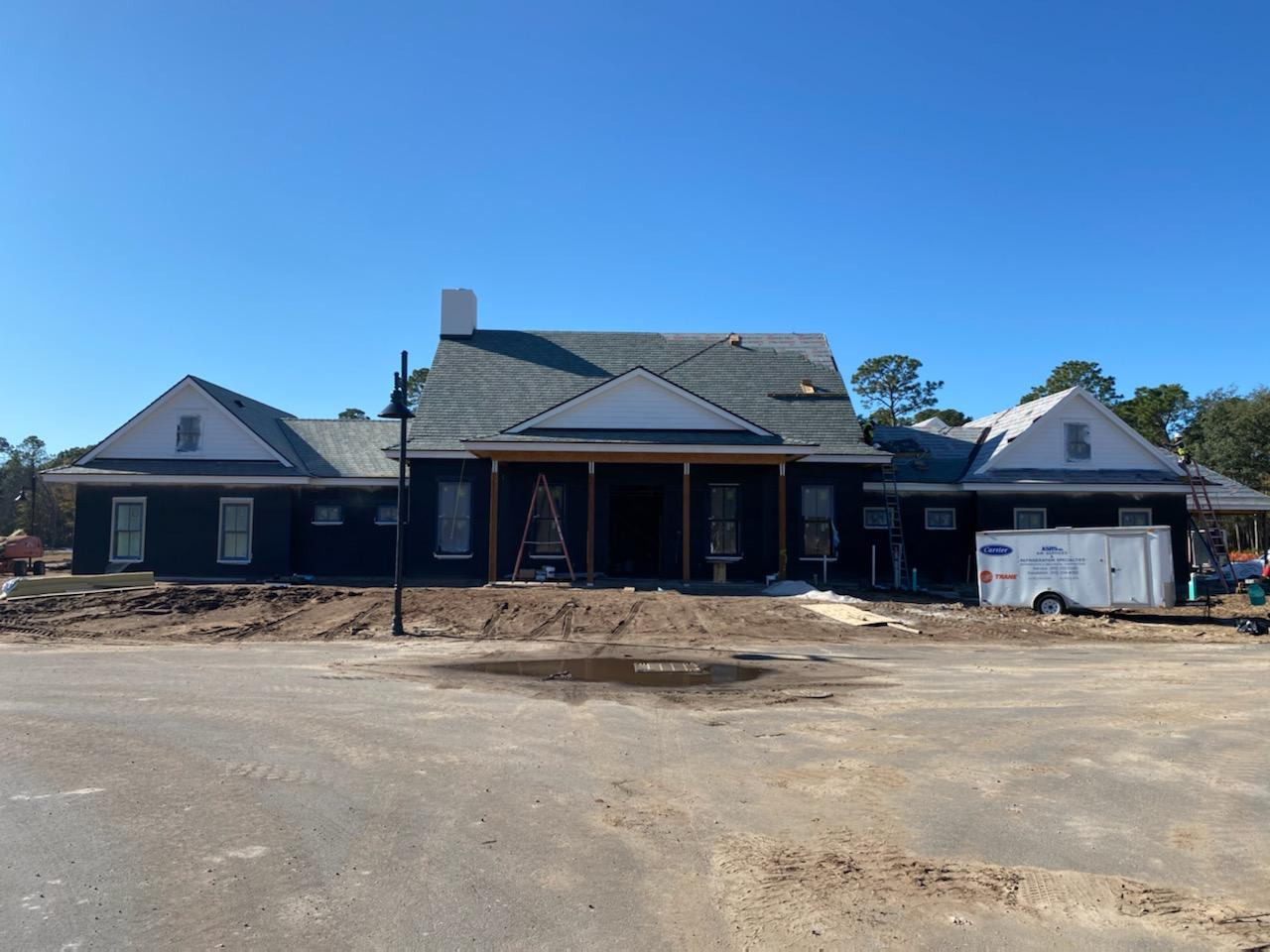 Progress on the Clubhouse